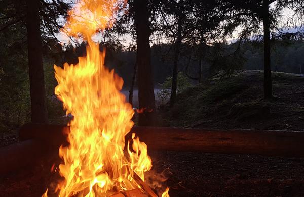 Eldningsförbud info